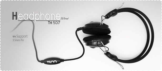 TSCO TH 5017 Headphones