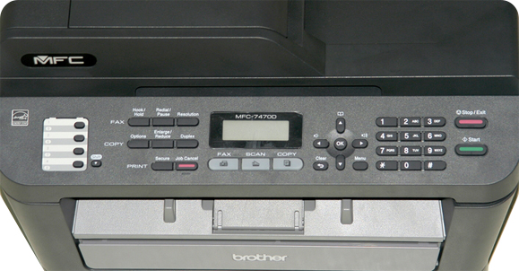 Brother MFC-7470D Multifunction Laser Printer