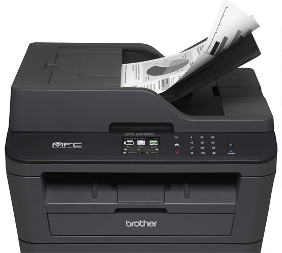 Brother MFC-L2740DW Multifunctional Laser Printer