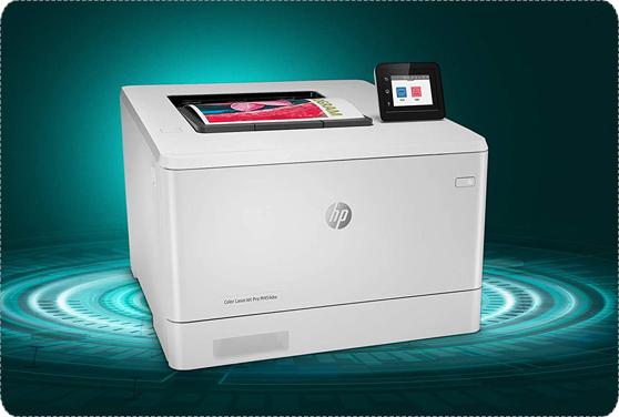 HP LaserJet Pro M454dw Color LaserJet Printer