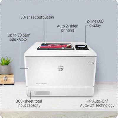 HP LaserJet Pro M454dn Color LaserJet Printer