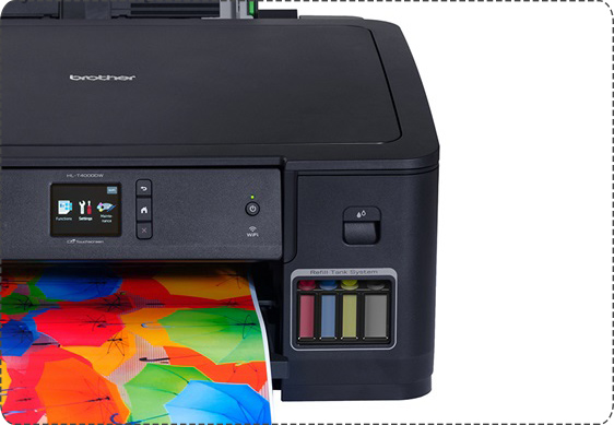 Brother Color Inkjet HL-T4000DW  Printer