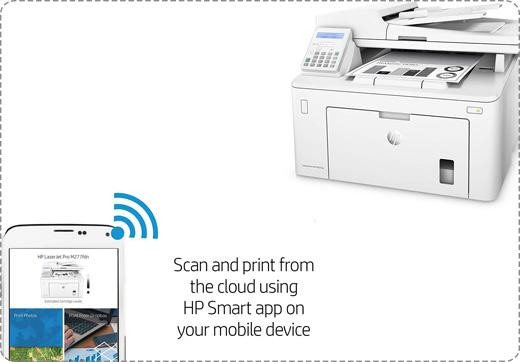 HP LaserJet Pro MFP M227fdn Laser Printer