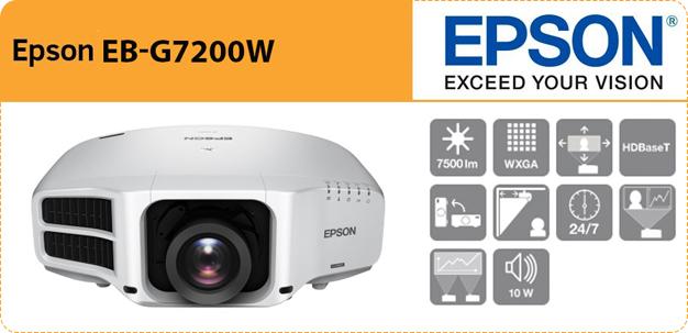 Epson EB-G7200W video projector