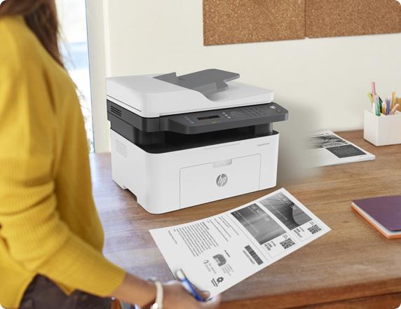 HP Laser MFP 137fnw Laser Jet Printer