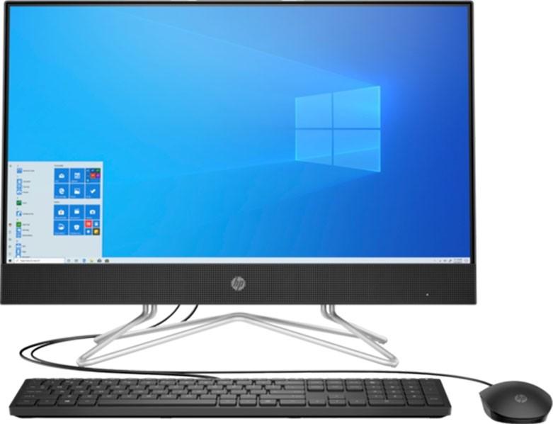 تصویر کامپیوتر همه کاره 24 اینچی اچ پی مدل 24-DF1103D HP 24-DF1103D-11Gen All in One Desktop